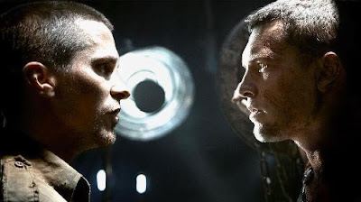 Christian Bale and Sam Worthington in Terminator 4