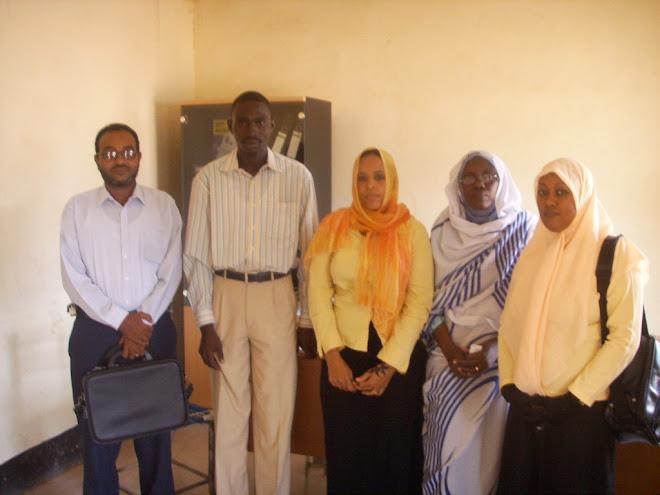 مجموعة من اساتذة الكلية