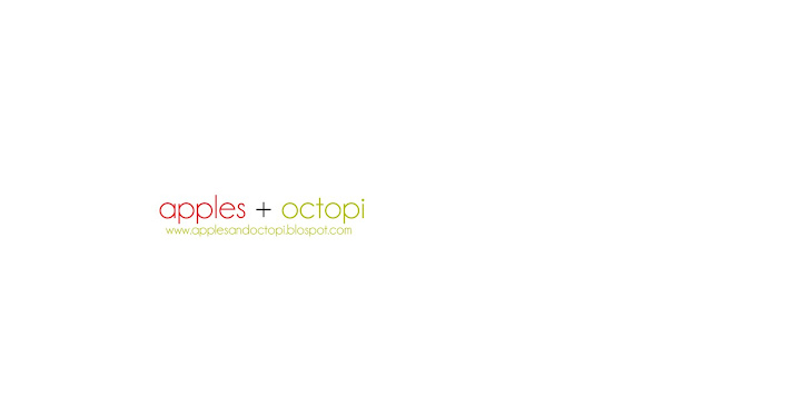 apples + octopi