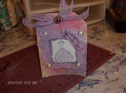 pretty dress card