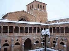 Monasterio cisterciense de santa María de Huerta (Soria) España.