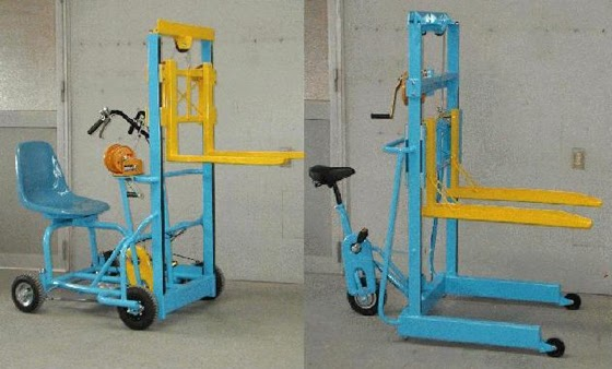 Small Bits & Pieces: Lightweight Personal Forklift