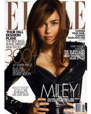 Miley Cyrus Elle Magazine Cover