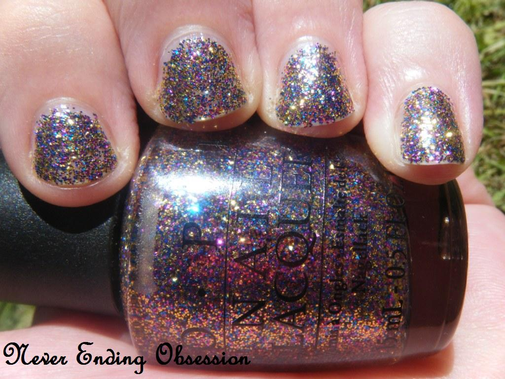 never ending obsession opi sparkleicious