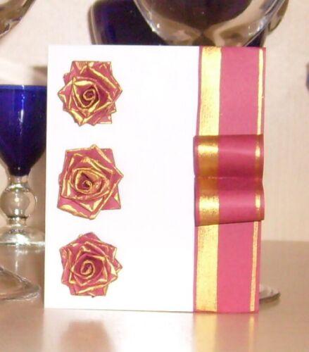 gulnas 39 kunstblog selbstgemachte karte rosen aus papier. Black Bedroom Furniture Sets. Home Design Ideas