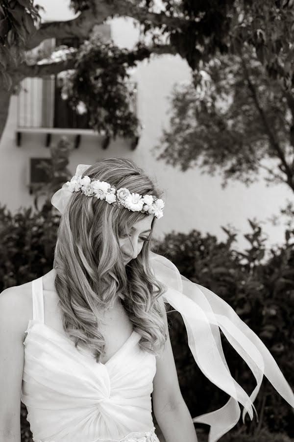 My way in the future Hippie Wedding Headband