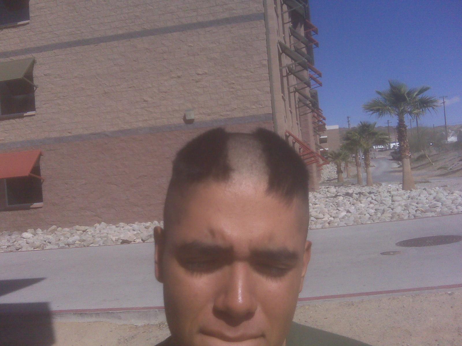 marines hair
