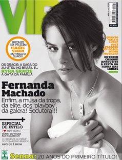 Capa VIP Fernanda Machado