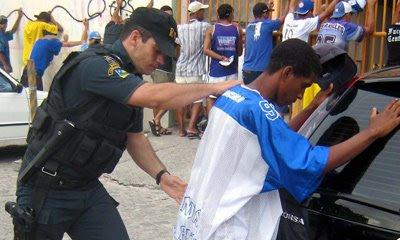 Abordagem da Policia Militar de Sergipe