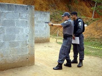 Policiais da PMES