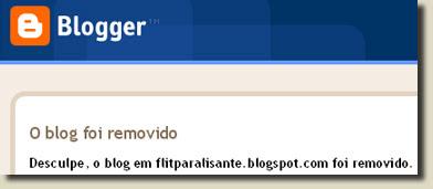 Blog Removido