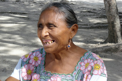 The Yucatan Peninsula is largely populated with Mayans who are beautiful but ...