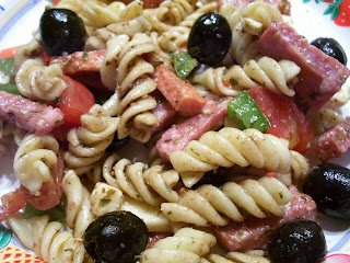 i made this for a christmas luncheon we had at work and it turned out really good ive been looking for a go to pasta salad recipe and this is it