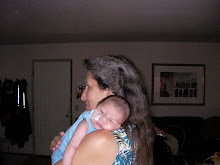 Grandma Lou holding baby Ross..one month old
