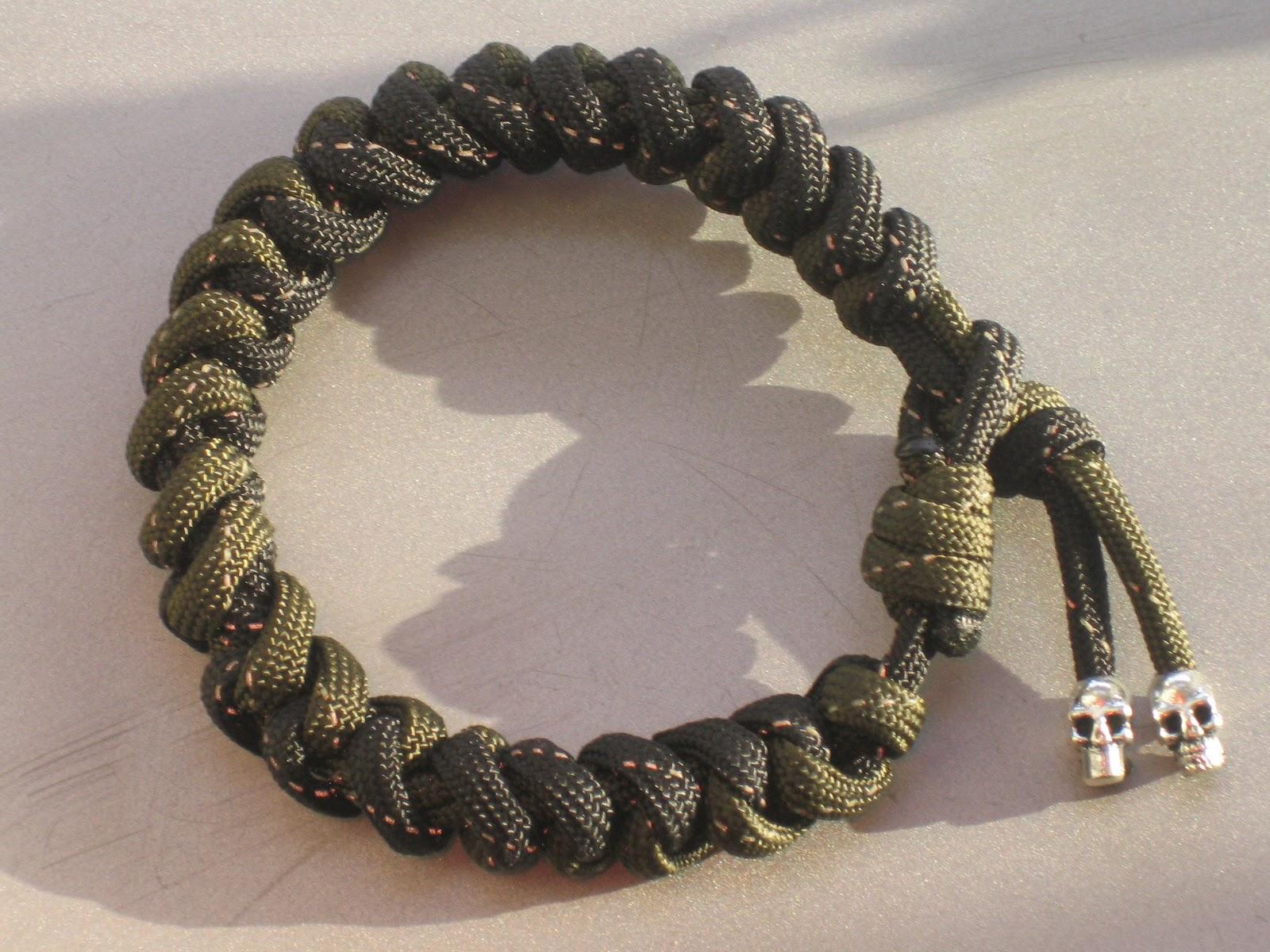 everything paracord uk thai roper snake weave bracelet