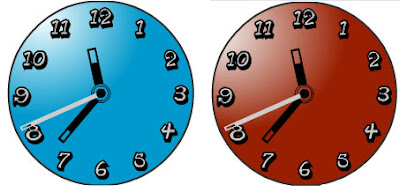 free analog flash clocks