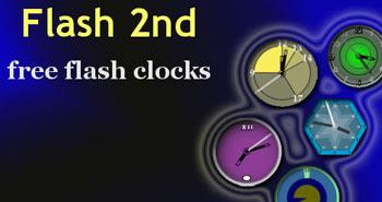 free flash clocks blog header