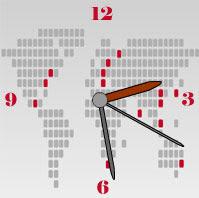 free flash clock