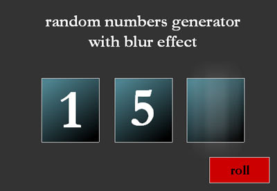 Flash random number generator