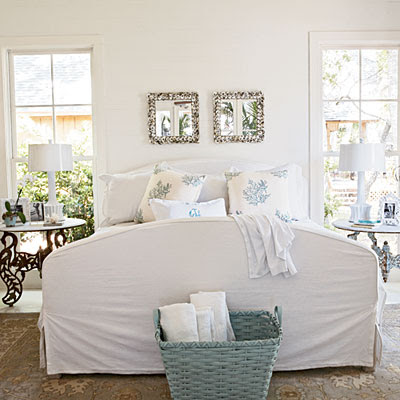 Coastal Style Bedrooms | Interior Decorating Tips