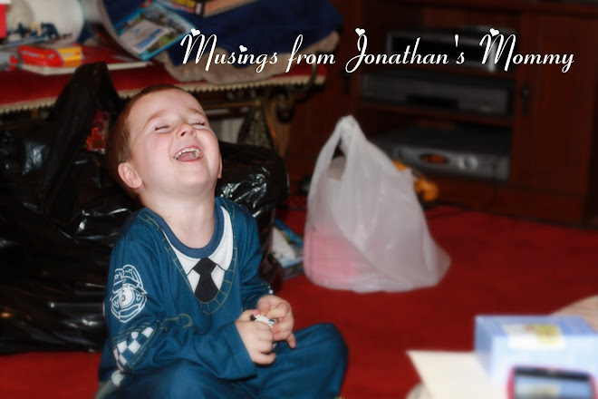 Musings from Jonathan's Mommy