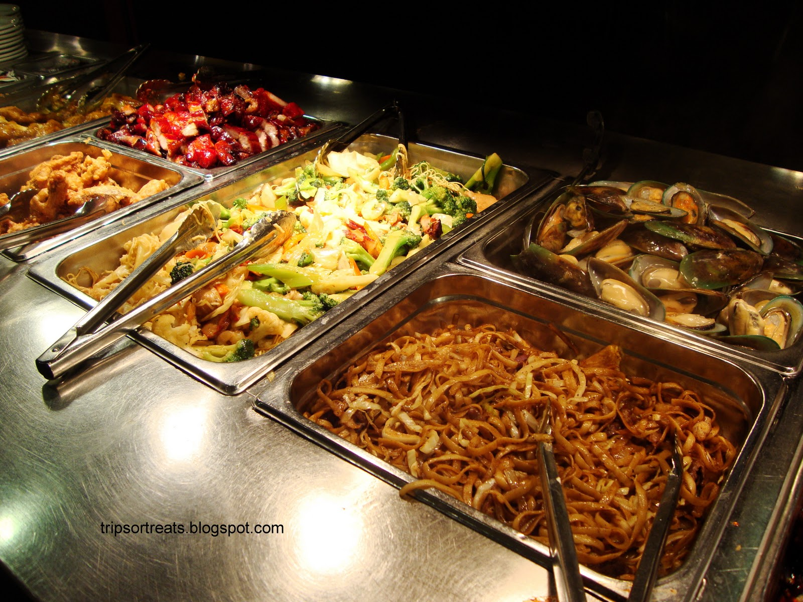 The seasoned first timer buffet square for Asian cuisine buffet