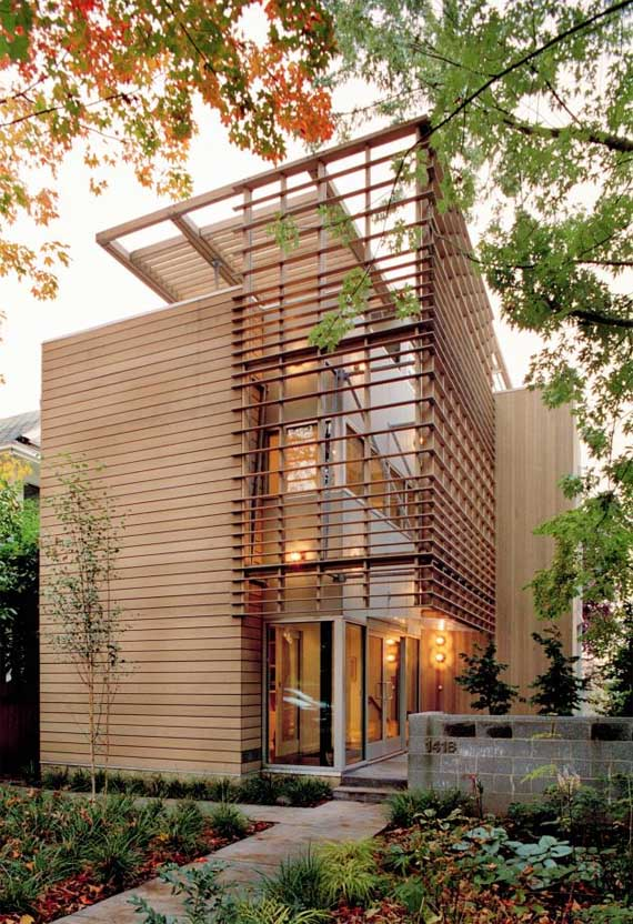 Eco modern house madrona residence by vandeventer carlander architects minimalist home dezine Dezine house