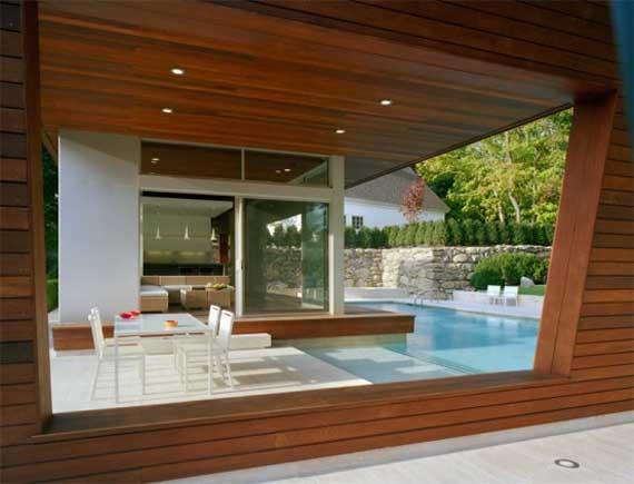 Modern Architectural Pool House Design By Hariri Hariri
