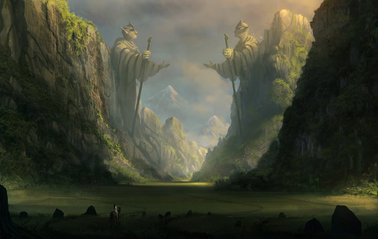 20 Magnificent Dark Fantasy (Landscape) Digital Painting ...