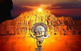las piramides de tucume atractivo turistico de la region Lambayeque