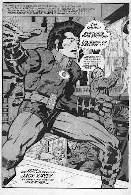 OMAC de Jack Kirby Omac+III