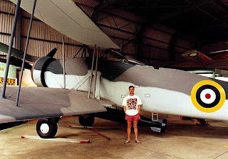 Размеры самолета Fairey Swordfish