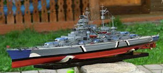 Бумажная модель линкора Бисмарк