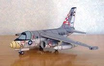 Бумажная модель самолета S3 Viking