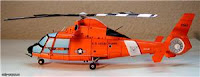 бумажная модель вертолета НН-65А Dolphin