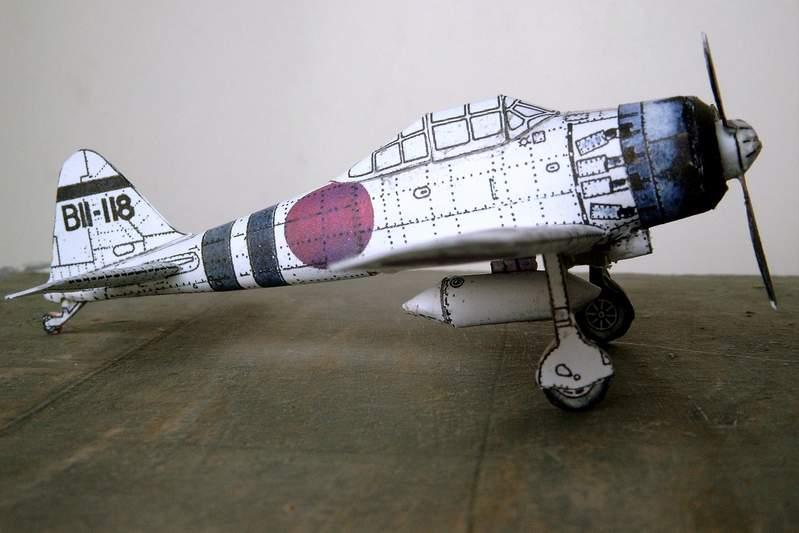 Бумажный моделизм или Модели из картона: Бумажная авиамодель...