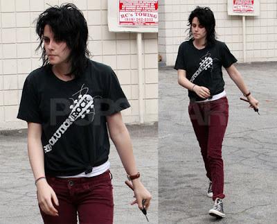 kristen stewart hair 2011. Kristen Stewart#39;s New Hair.