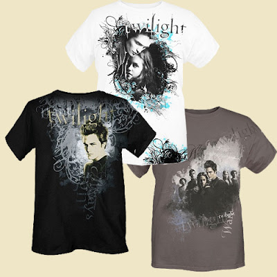 New Twilight Shirts at Hottopic! Hottopic has some new Twilight Shirts for