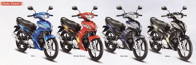 Spesifikasi Yamaha Jupiter MX 135LC