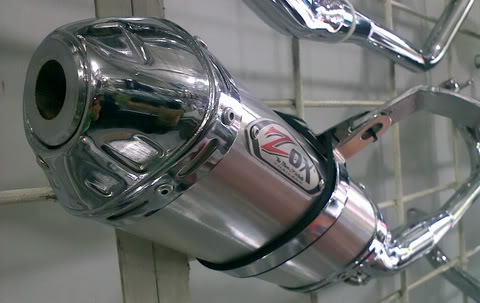 Zox Trioval Exhaust System with DB killer