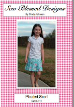 Pleated Skort Pattern...