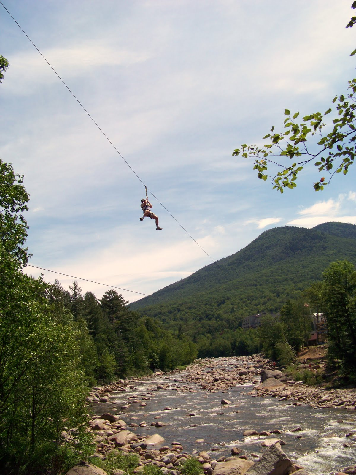 Cable Zip Line : White mountains adventure concierge new zipline at loon