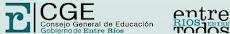 Consejo General de Educación - E.R