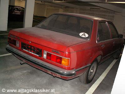 Opel Rekord  Старый Опель сын ошибок.