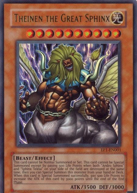 Yu gi oh monstros de efeito nível theinen the
