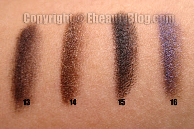 Smashbox Eye Wish Palette Swatches