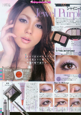 Makeup Tutorial: Japanese Beauty Magazine Scans
