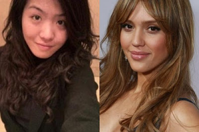 Chinese Girl Wants to Look Like Jessica Alba