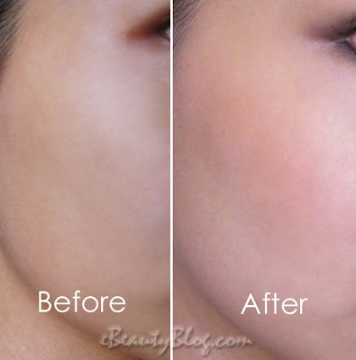 Giorgio Armani Face Fabric Foundation Before and After Review