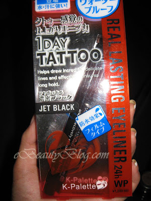 K-Palette 1 Day Tattoo Eyeliner Review